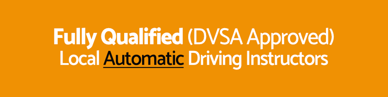 automatic team of qualified driving instructors